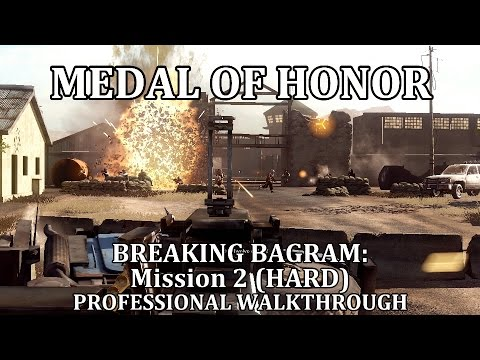 Medal of Honor: Breaking Bagram (Mission 2) HARD || Battle of Bagram Airfield