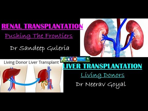 Living Donor Liver Transplantation & Renal Transplantation - Pushing The Frontiers