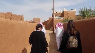 Teaching in Saudi Arabia Ushaigher Heritage Village and Red Sands Desert