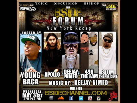 BSIDEFORUM ~ Apollo ~ Deejay Nimfo ~ Slum the Resident ~ 498 the Fam ~ 5/31/17