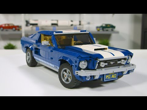 LEGO Ford Mustang GT  Designer Review Video! Full LEGO Set  Unboxing and Review