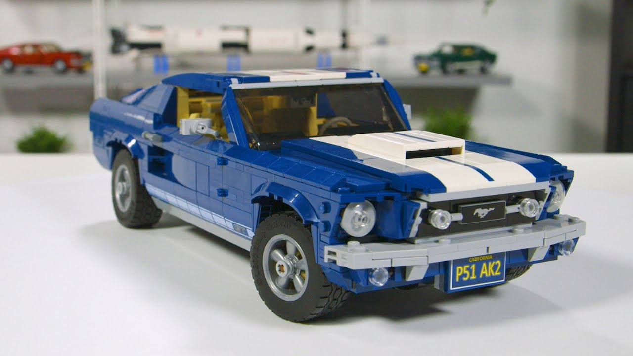 New 2019 Lego Creator Expert Ford Mustang Gt 10265 Review Video By