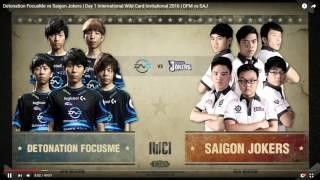 DFM vs SAJ 解説 (IWCI 2016 Day1)