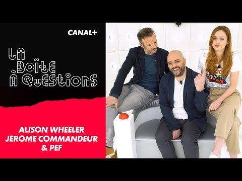La Boîte à Questions de Alison Wheeler, Jérôme Commandeur & PEF – 03/04/2018