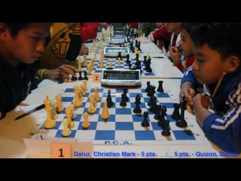 Round 6 Kiddies Rapid Chess Tournament Pinoy Youth Chess Club January 29 2017