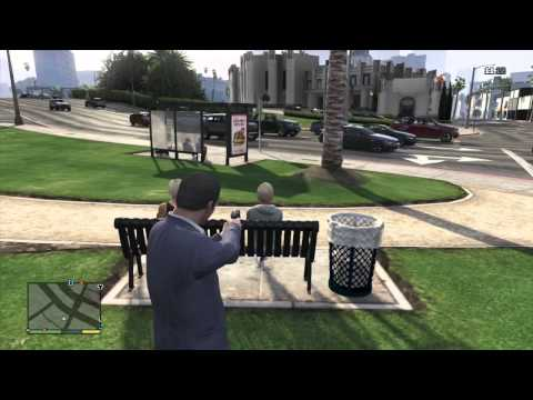 GTA 5 COMBAT PISTOL TESTING GAMEPLAY