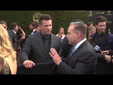 Michael Fairman s Steve Burton 45th Annual Daytime Emmy's Red Carpet