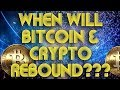 Bitcoin Rebound or Bitcoin Crash?? What's In Store For Cryptocurrency???