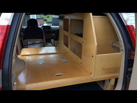 My 2005 Honda CRV Overland SUV Camper Conversion, Part 1: The Build