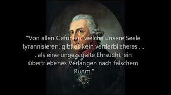 Zitate von König Friedrich II. von Preußen