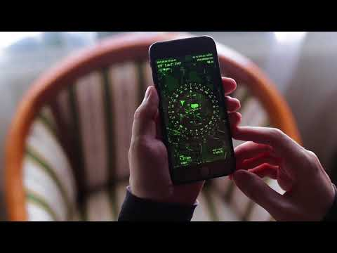 Calibrate iPhone compass using maps and gyrocompass in Spyglass on iOS [Russian]