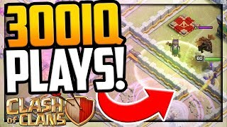 300 IQ Plays in Clash of Clans - That YOU Can Use!