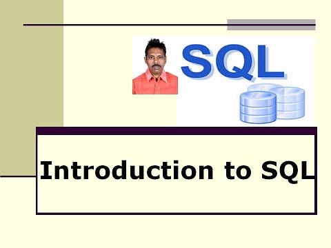 Introduction to SQL / Structured Query Language