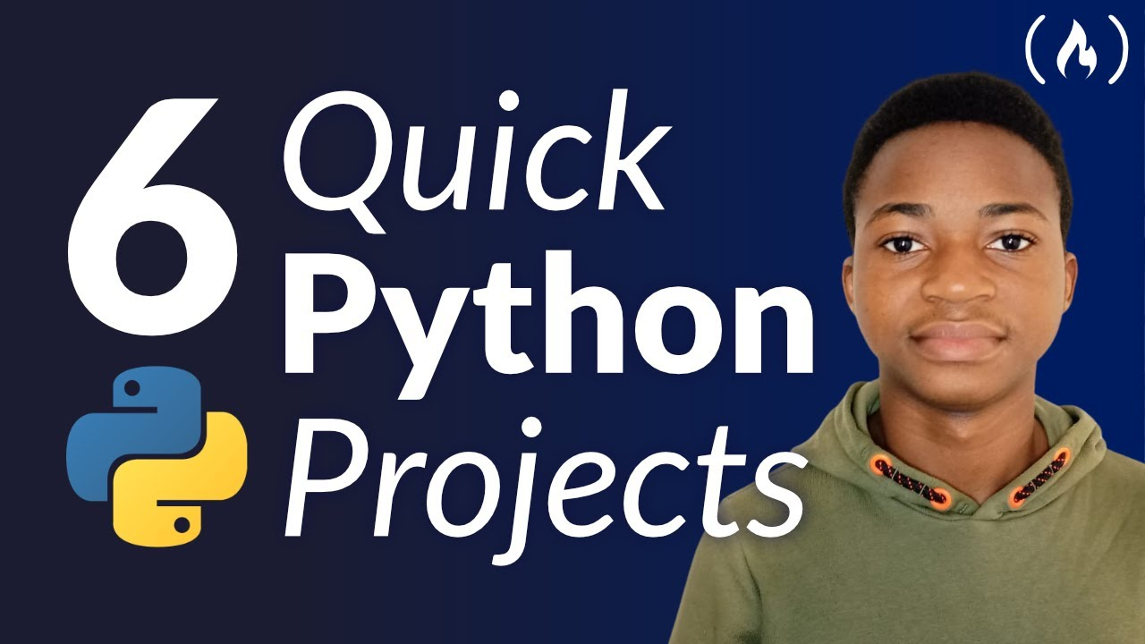 Six Quick Python Projects