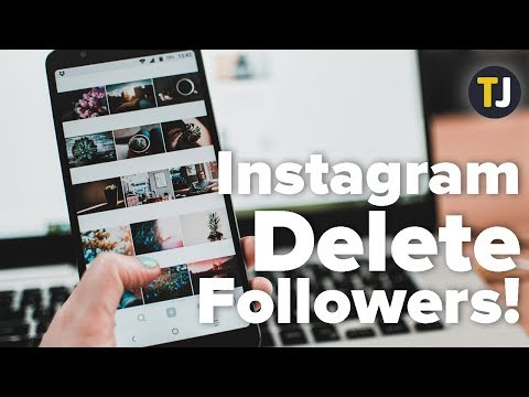 How to Delete All Your Followers on Instagram!