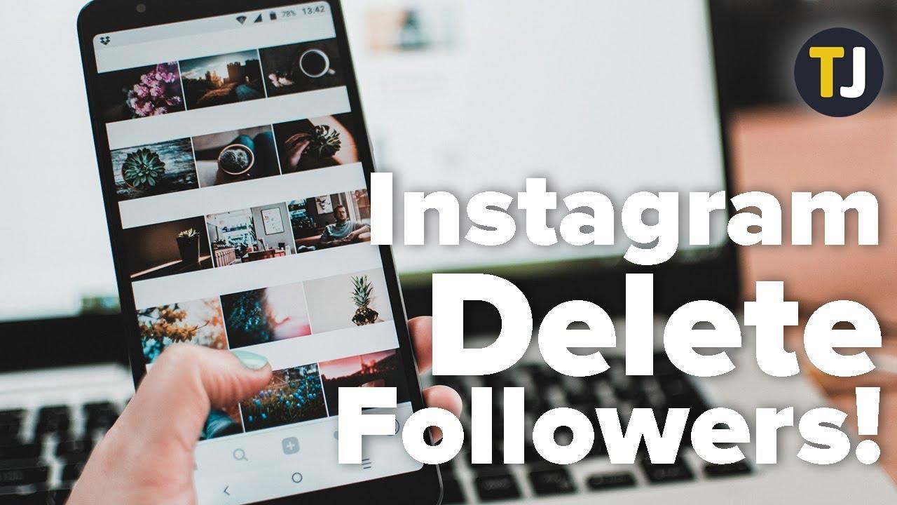 Как удалить все фото в инстаграме