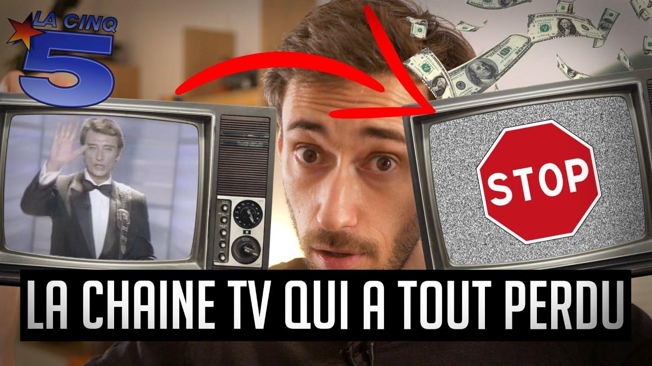 La 1ère chaine TV française à mourir en direct (La 5) – Une dose de curiosité #4