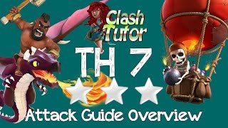 Clash of Clans TH7 Attack Strategy Guide