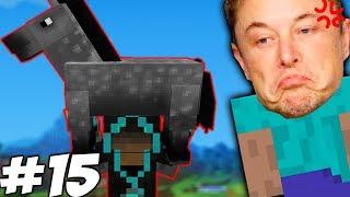 ВТОРАЯ МЕЧТА МАСКА СБЫЛАСЬ \\  Приключения Илона Маска в Minecraft #15