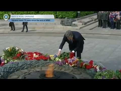Ukraine Marks WWII Anniversary: President Poroshenko attends commemoration events