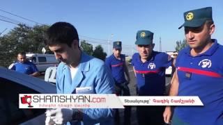 Խոշոր ավտովթար Երևանում  Ճակատ ճակատի բախվել են Mercedes ն ու Volkswagen ը  Կա 5 վիրավոր