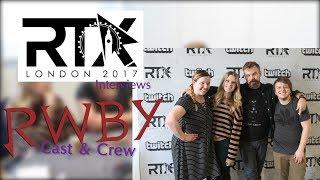 "RTX London 2017 Interviews   ""RWBY"" Crew"