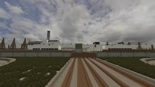 Припять в майнкрафт/ Pripyat in minecraft
