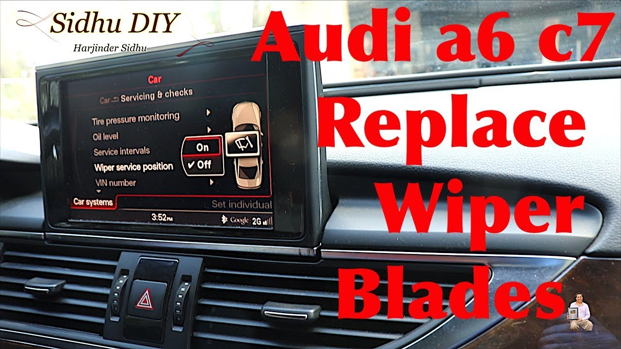 How To Change Wiper Blades on Audi