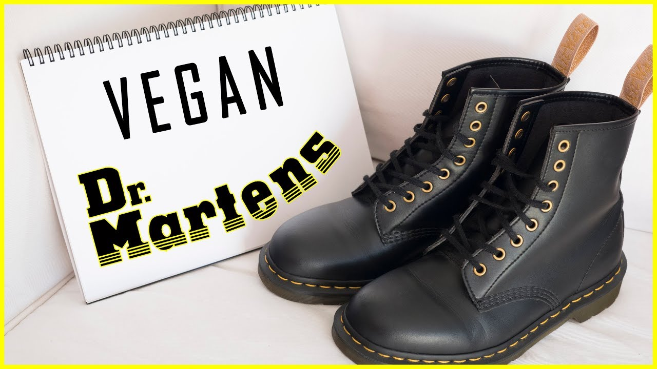 ccc416be9260 VEGAN DR MARTENS - The Ultimate Guide - YouTube