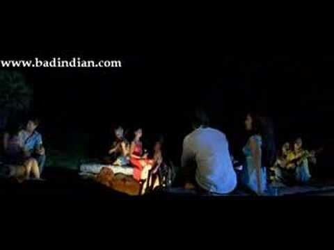 hot kissing and bed scene from new movie...