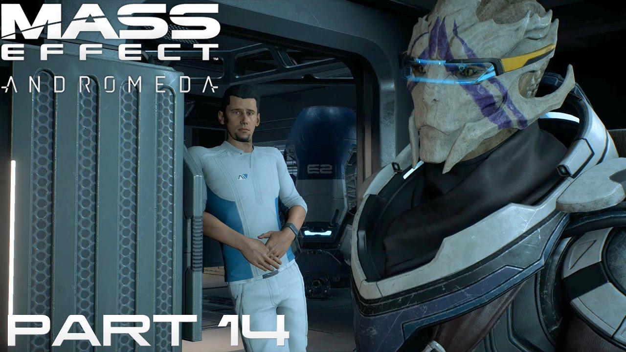 Lets Play Mass Effect Andromeda Deutsch 14 Crewmitglieder