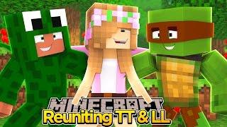 Minecraft - LITTLE KELLY REUNITES WITH LITTLE LIZARD & TINY TURTLE