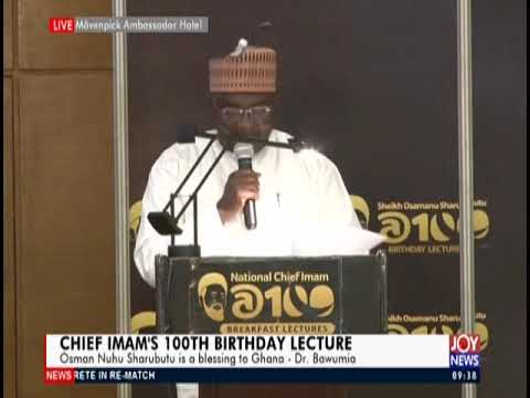Chief Imam's 100th Birthday Lecture - JoyNews (23-4-19)