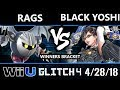 Glitch 4 - Black Yoshi (Bayonetta) Vs. Rags (Meta Knight) - Wii U Singles Winners Top 24