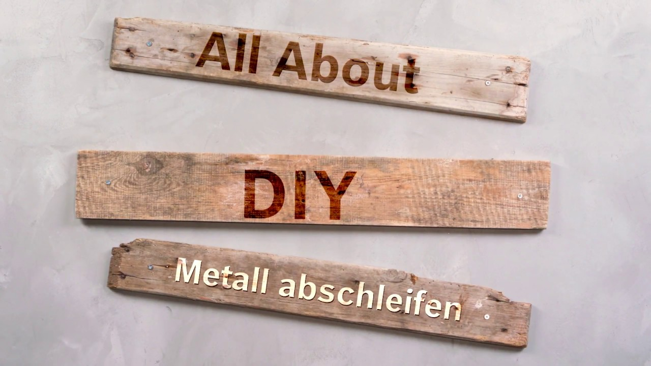 tutorial metall abschleifen und lackieren so geht s youtube. Black Bedroom Furniture Sets. Home Design Ideas