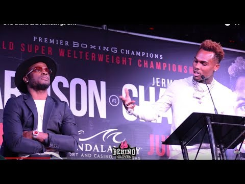 JERMELL CHARLO & TONY HARRISON GO AT IT IN LA PRESS CONFERENCE!