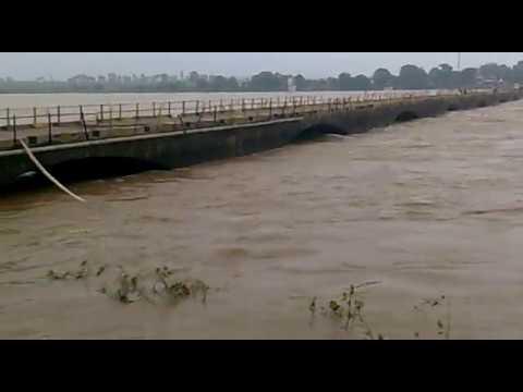 Narmada River Overflow India