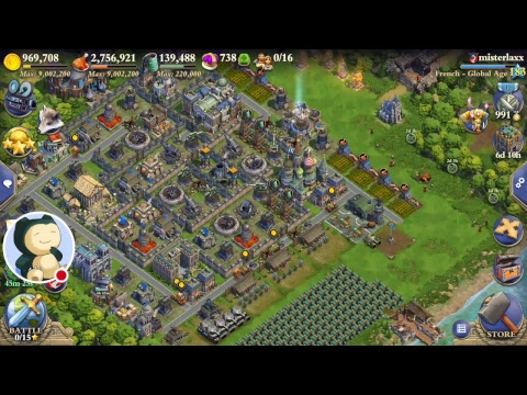 DomiNations: Industrial Age Heavy Tank Mk1 Raids HD