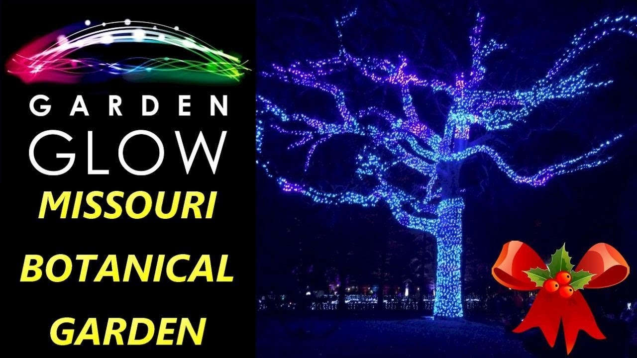 Garden Glow Missouri Botanical Garden Christmas Holiday Event St Louis 2017 Light Display In Stl Youtube
