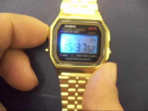 e653f63793f orologio watch casio A158 A-158 A159 A159 retro vintage - YouTube