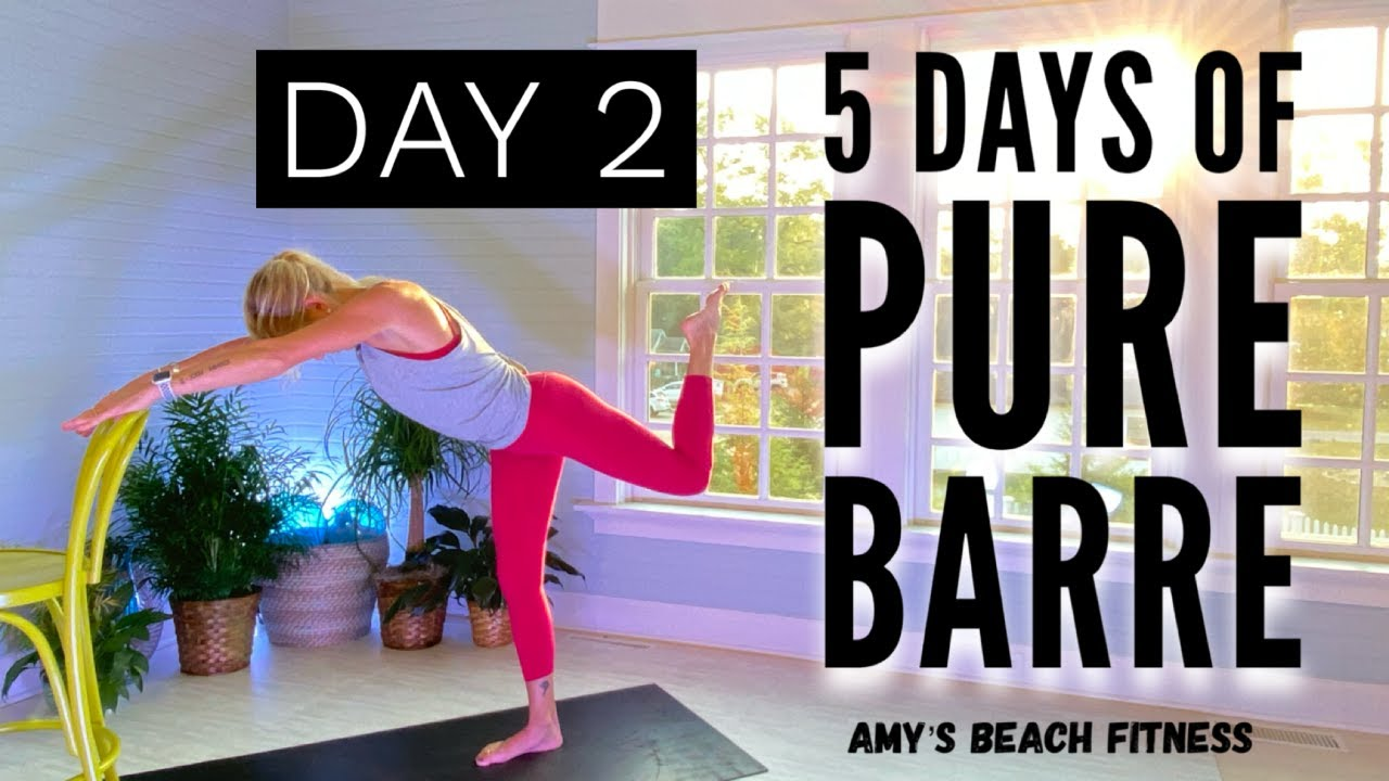 5 Days of Pure Barre - Day 2