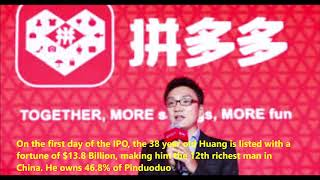 #SecretSelfmadeBillionaires0321 Colin Huang from Zero to 300 Million Users Story of Pinduoduo