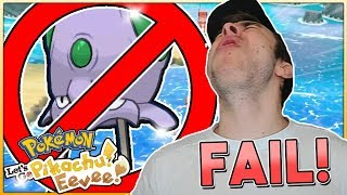 MY WORST SHINY FAIL YET! Pokémon Let's Go Pikachu & Eevee Shiny Reaction!
