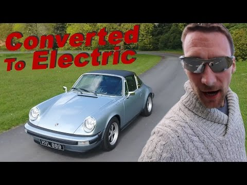 200 mile range Electric Porsche 911