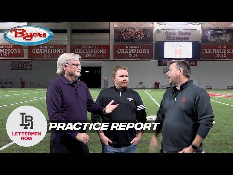 Practice Report: CFP rankings reaction, Ohio State health update