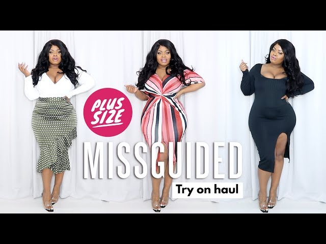1ecc924bd Plus Size Missguided Spring Try On Haul