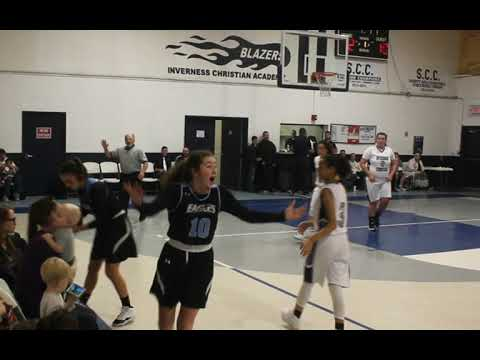 Inverness Christian Academy Girls Basketball vs Elfers January 28 2020