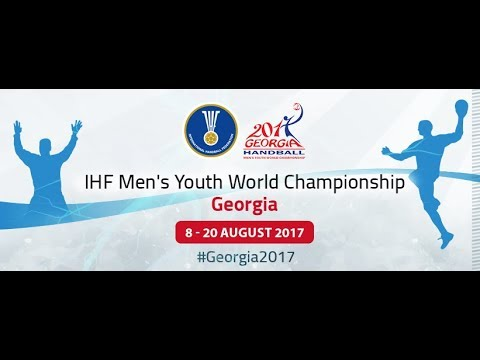 Denmark - Sweden (Group A). IHF Men's Youth World Championship