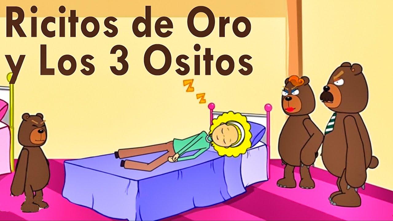 Ricitos De Oro Y Los 3 Ositos Español Los Cuentos Del Abuelo Lunacreciente Youtube