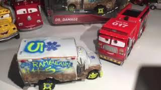 Disney Pixar cars 3 Dr. Damage and Tiny Lugsworth review